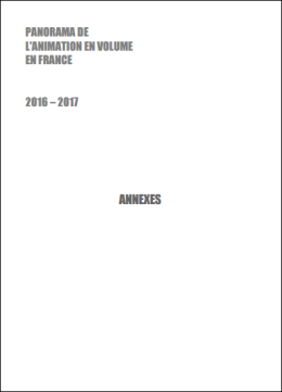 Annexes - Panorama de l'animation en volume en France