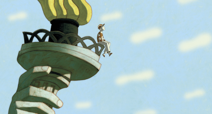 "Image du film ""Phantom Boy"""